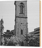 st andrew church holborn London England UK Wood Print