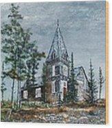 St. Andrews Church Wood Print