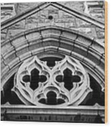 St Andrews Medallion Wood Print