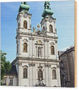 St Anne's Church In Budapest Wood Print