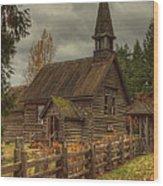 St Anne's Wood Print