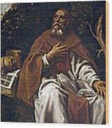 St Anthony Abbot Wood Print