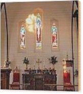 St. Augustine Apse Wood Print