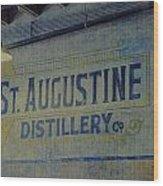 St. Augustine Distillery 2 Wood Print