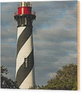 St. Augustine Lighthouse 1 Wood Print