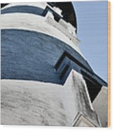 St Augustine Lighthouse - Angels And Ghosts Wood Print by Christine Till