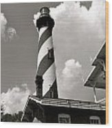 St. Augustine Lighthouse I Wood Print
