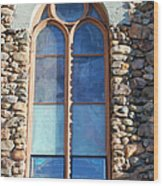 St. Augustine Window Wood Print
