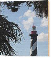 St. Ausgustine Lighthouse Wood Print