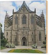 St Barbaras Cathedral Kutna Hora Czech Republic Wood Print