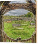 St Celynnin Graveyard Wood Print