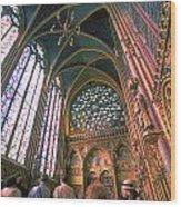 St. Chapel Wood Print