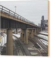 St. Charles Airline Bridge Wood Print