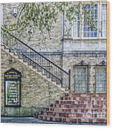 St. Charles Ave Baptist Church New Orleans Wood Print