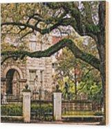 St. Charles Ave. Wood Print