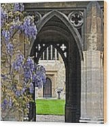 St. Cross Arches Wood Print
