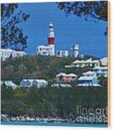 St. David's Light Bermuda Wood Print