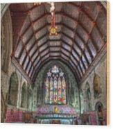 St David's Wood Print by Adrian Evans