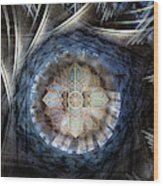 St Davids Cathedral Roof Wood Print