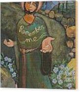 St. Dismas Wood Print