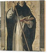 St. Dominic De Guzman Wood Print