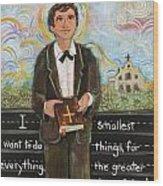 St Dominic Savio Wood Print