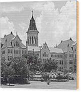 St. Edward's University Old Main I I Wood Print