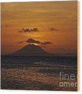 St Eustatius Wood Print