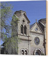 St. Francis Of Assisi Church Wood Print