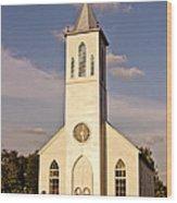 St. Gabriel The Archangel Catholic Church Wood Print