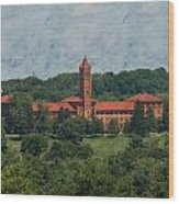 St. Gabriel's From Valley Forge Wood Print