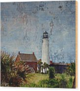 St. George Island Historic Lighthouse Wood Print