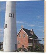 St. George Lighthouse Wood Print