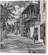 St. George Street Wood Print