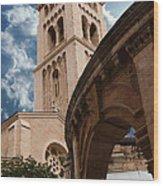 St. George's Cathedral Jerusalem Wood Print