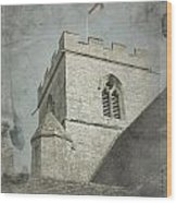 St Georges Flag  Wood Print