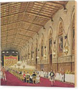 St Georges Hall At Windsor Castle Wood Print