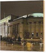 St Georges Hall Liverpool Wood Print
