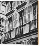 St Germain Des Pres Wood Print