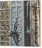 St. Gillis Well Pump Wood Print