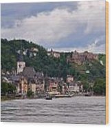 St Goar Am Rhein Wood Print