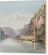 St. Goarshausen, St. Goar Wood Print