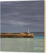 St Ives In Cornwall Wood Print