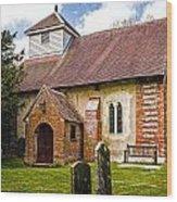 St James Ashmansworth Wood Print