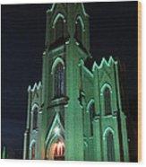 St James Catholic Church In Vancouver Washington Wood Print