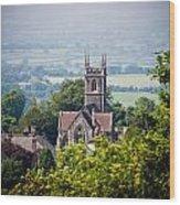 St James Church Shaftesbury Wood Print