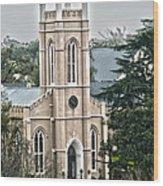 St. James Episcopal Church Wilmington North Carolina Wood Print