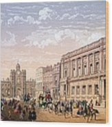 St James Palace And Conservative Club Wood Print