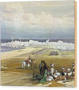 St. Jean D'acre April 24th 1839 Wood Print