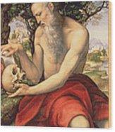St. Jerome Wood Print